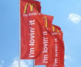 Outdoor Advertising Flag